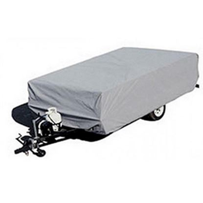 """Picture of ADCO  Gray Poly Cover For Folding/Pop-Up 14'1""""-16' Tent Trailers 2894 01-1097"""