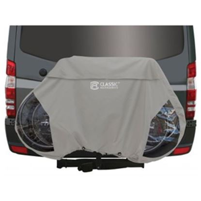 Picture of Classic Accessories  Light Gray Polyester Bike Cover For 3 Bicycles 80-111-011001-00 01-3245