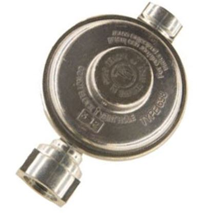 "Picture of Cavagna  1/4"" FNPT Inlet x 3/8"" FNPT Outlet Single Stage Regulator 69-A-890-0002 06-0892"