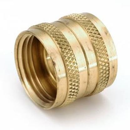 "Picture of Anderson Metal LF 7S3 Series 3/4"" FGHPT Swivel Nut Brass Fresh Water Straight Fitting 707403-12 06-1318"