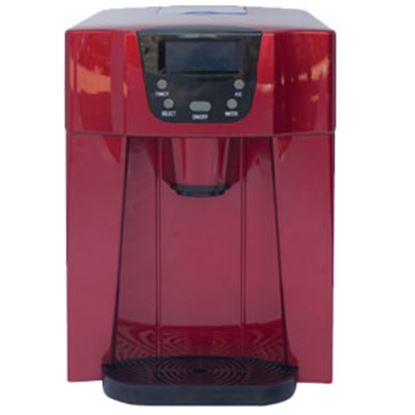 Picture of Contoure  Red 110V Ice Machine RV-225-RED 07-0309