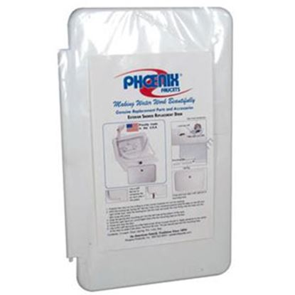 Picture of Phoenix Faucets  White Exterior Shower Box Door For Phoenix #377 PF267001 10-0152
