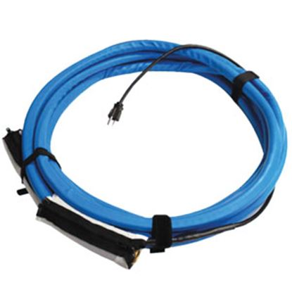 "Picture of Valterra  Heated Blue 1/2""x25' Fresh Water Hose w/Zippered Insulation Cuffs W01-5325 10-1722"
