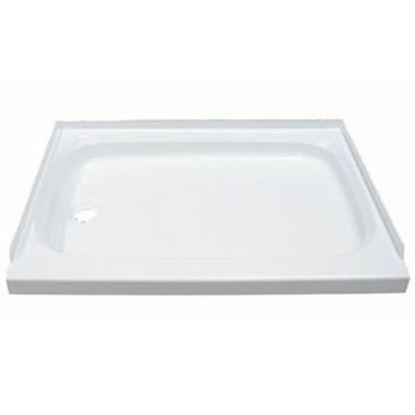 "Picture of Better Bath  Parchment 24""x36"" Rectangular Shower Pan 209496 10-1763"