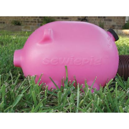 Picture of Sewie Pig  Pink Pig Shape Sewer Hose Connector E49-PW-001-P 11-0000