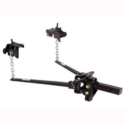 "Picture of Husky Towing  801-1200lb Trunnion Bar Weight Distribution Hitch w/ 10"" Shank 31335 14-1066"