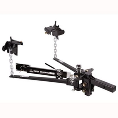 "Picture of Husky Towing  1200 Lb Trunnion Bar Weight Distribution Hitch w/10"" Shank & Ball 31621 14-1073"