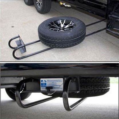 Picture of BAL Hide-A-Spare I-Beam Underslung Mount Tire Carrier 28218B 16-0048