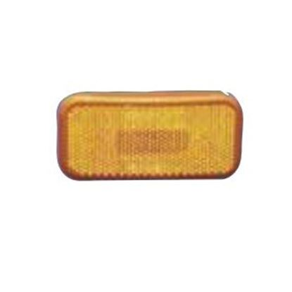 "Picture of Command  Amber 3-7/8""L x 1-7/8""W x 1-3/4""H Clearance Side Marker Light 003-59 18-0204"