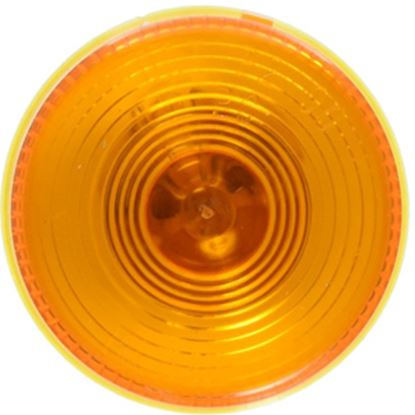 """Picture of Peterson Mfg.  Amber 2-1/2"""" Dia Clearance Side Marker Light V142A 18-0492"""