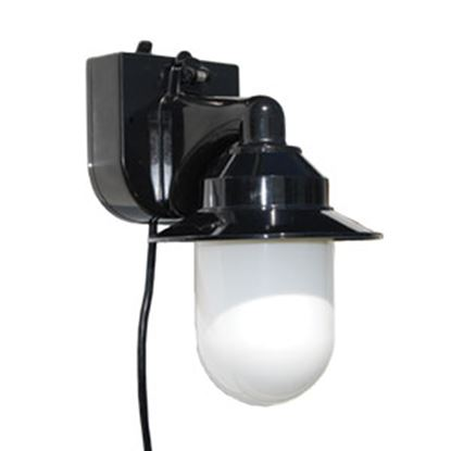 Picture of Polymer Products  Black Portable Porch Light 2104-10000-P 18-1902