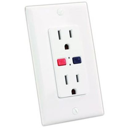Picture of JR Products  Ground Fault Circuit Interrupter 15005 19-2983