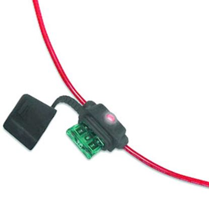 Picture of Battery Doctor  10-Case ATO/ATC Blade Fuse Holder w/Fuse 24413-10 19-3530