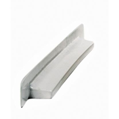"""Picture of Camco  12""""W White Molded Plastic Screen Door Slide Stop 45543 20-0108"""