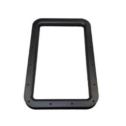 Picture of AP Products  Black Interior & Exterior Entry Door Window Frame 015-2014762 20-1058