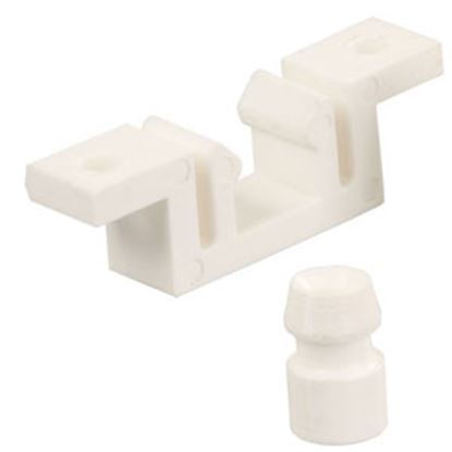 Picture of JR Products  Plastic Entry Door Latch 81855 20-1247