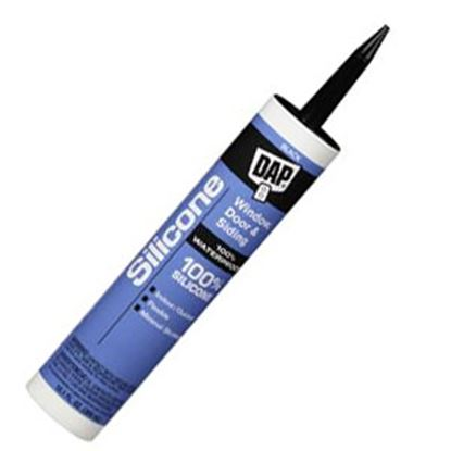 Picture of DAP  Black 10.1 Oz Silicone Caulk 08642 69-0044
