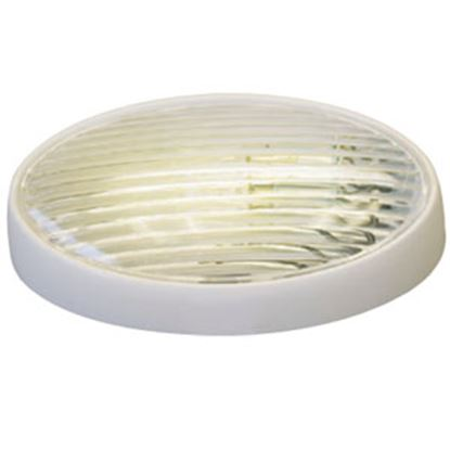 Picture of Gustafson  Clear w/Amber Lens Oval Porch Light w/o Switch GSAM4033 69-5188