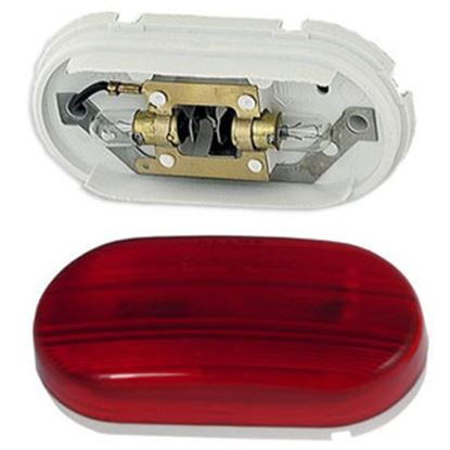 """Picture of Grote  Red 4"""" x 2"""" Side Marker Light 45262 69-9062"""