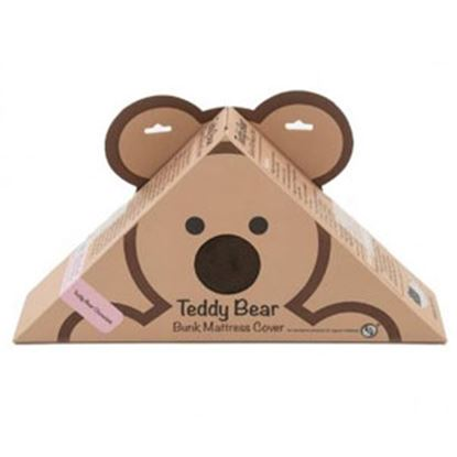 "Picture of Lippert Teddy Bear Bunk Series Chocolate PU Synthetic Fiber 32""X74""X3""D Bunk Mattress Protector 679285 71-5384"