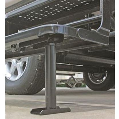 """Picture of Camco  8-1/2""""-14"""" Black Steel Entry Step Stabilizer 43671 96-2842"""